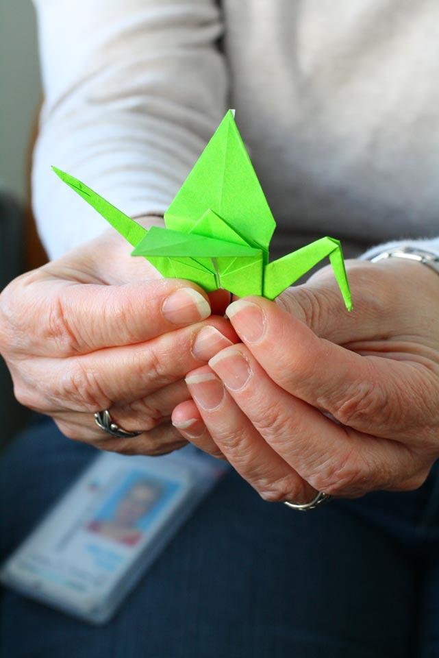 Origami, Poem Signify Big Change in Fairfax