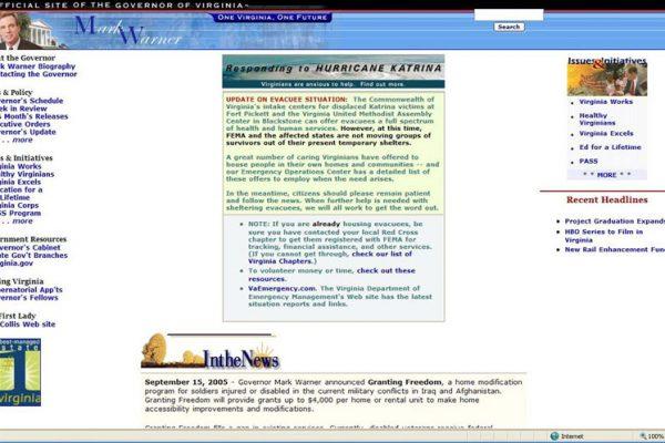 Warner Website