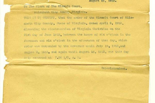 Letter from J.B. Wood