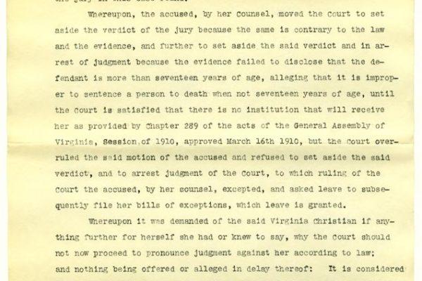 Judgement for Virginia Christian (pg 2)