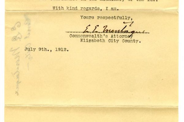Letter from E.E. Montague (pg. 2)