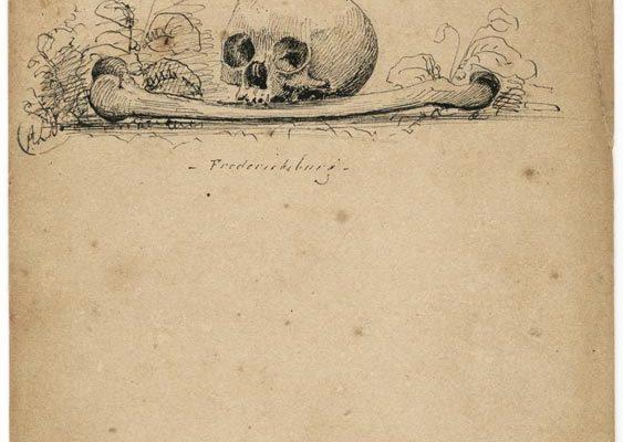 """Sketch, entitled """"Fredericksburg"""""""