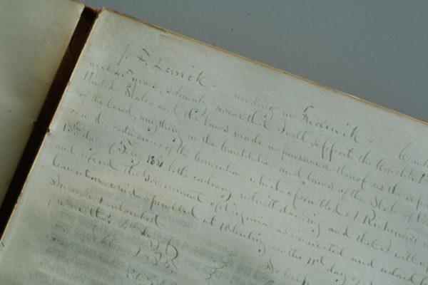 The loyalty oath of J. F. Larnick