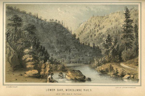 Prospectors on Mokelumne River