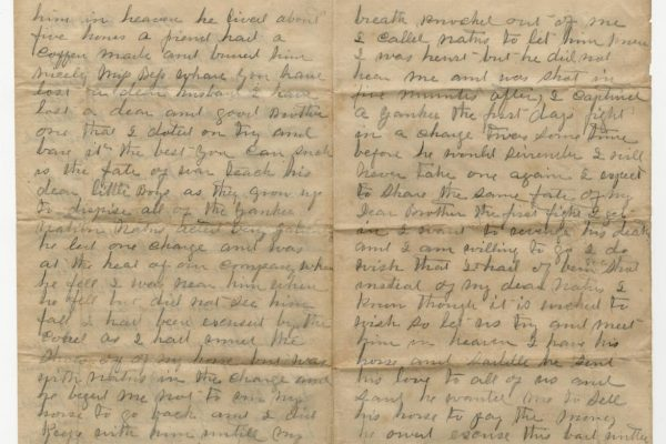 Letter from William Ware Jr. (pg. 2)