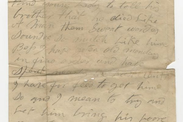 Letter from William Ware Sr. (pg. 2)