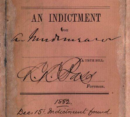 Indictment against Baker