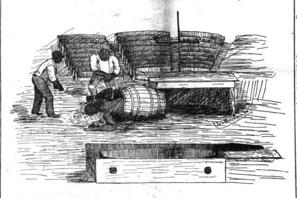 Chris Baker, the body of Solomon Marable