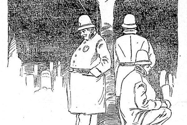 Illustration that caught Baker