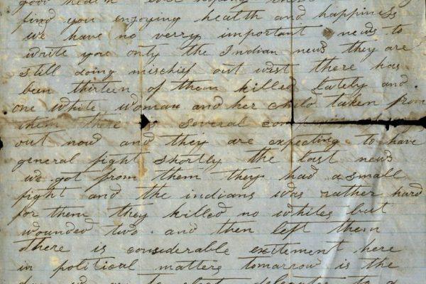 Linton Perkins Letter pg. 1