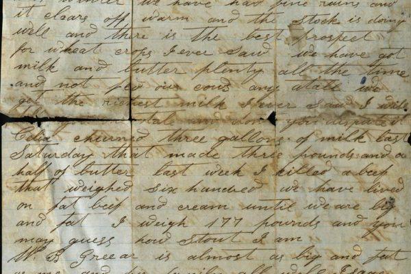 Linton Perkins Letter pg. 2