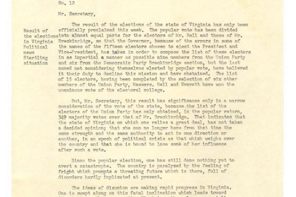Alfred Paul's Report pg. 1