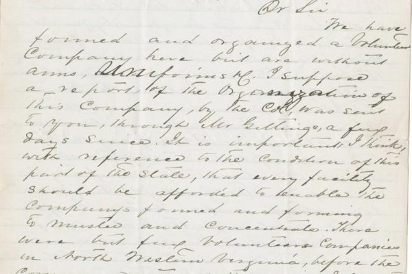 Letter from Johnson pg. 1
