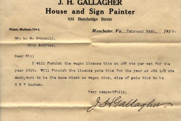 Gallagher's bid