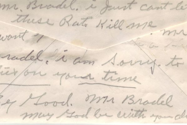 Third Suicide Note of Robinson (pg. 2)