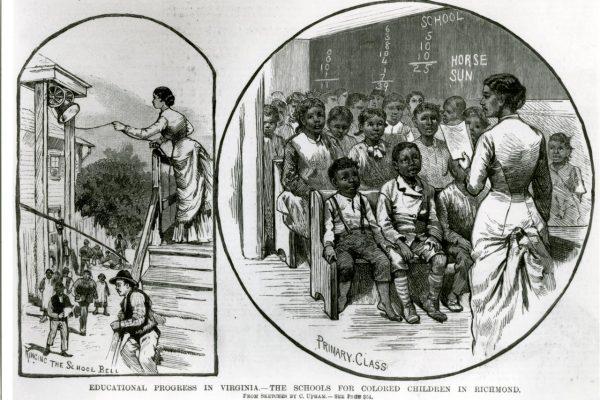Sketch of African American School
