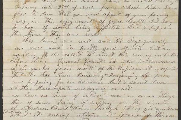 John J. Rusmisel letter pg. 1