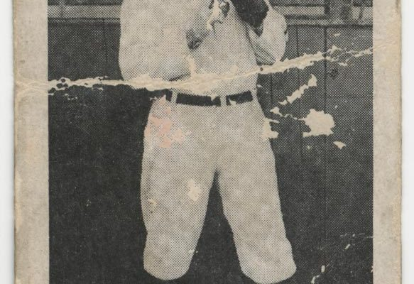 Contentnea Cigarettes baseball card, T209 series (issued 1910), featuring Martin (Marty) Walsh of the Virginia League's Norfolk Tars.