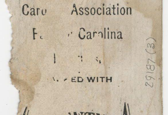 Back of Cowan's card