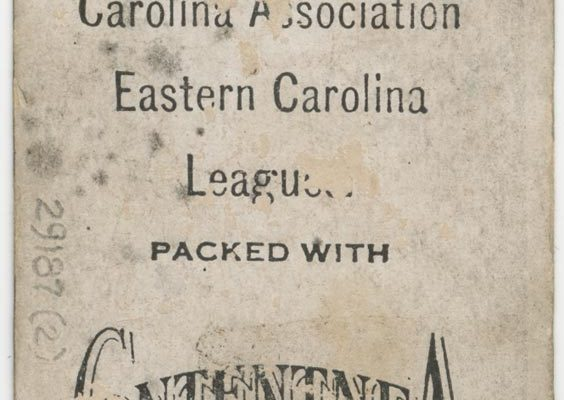 Back of Smith's card