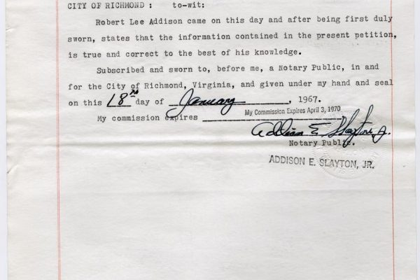 Clemency Petition of Bob Addison pg. 4