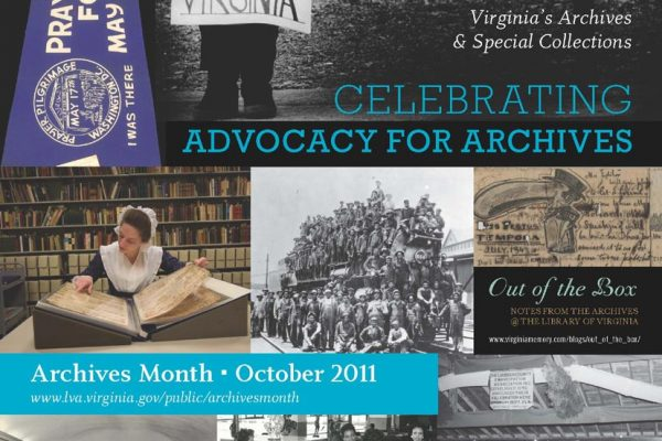 Poster for Archives Month 2011