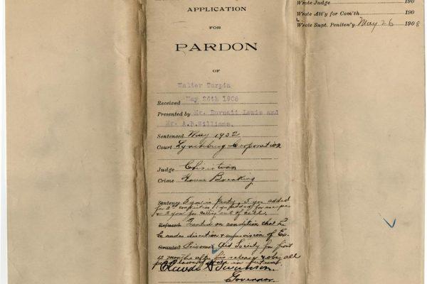 Jacket of Turpin Pardon