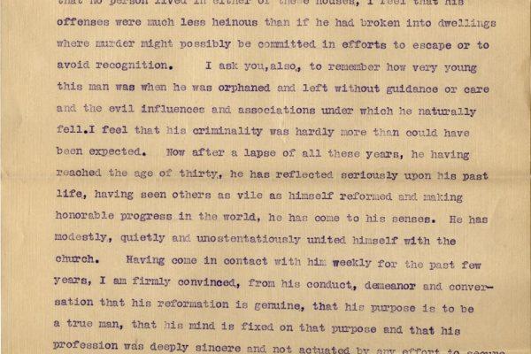 Letter from Burnett Lewis pg. 2