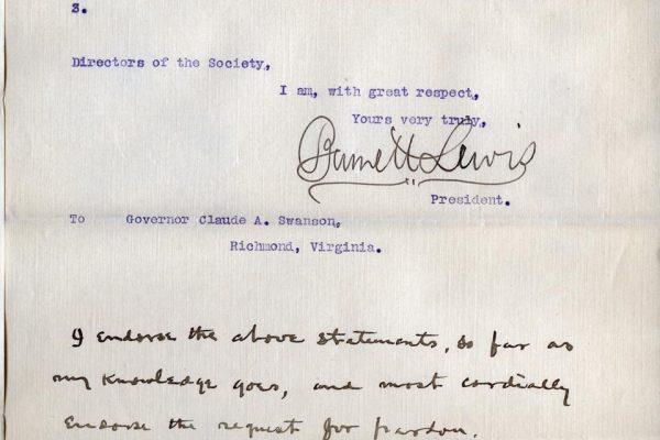 Letter from Burnett Lewis pg. 3