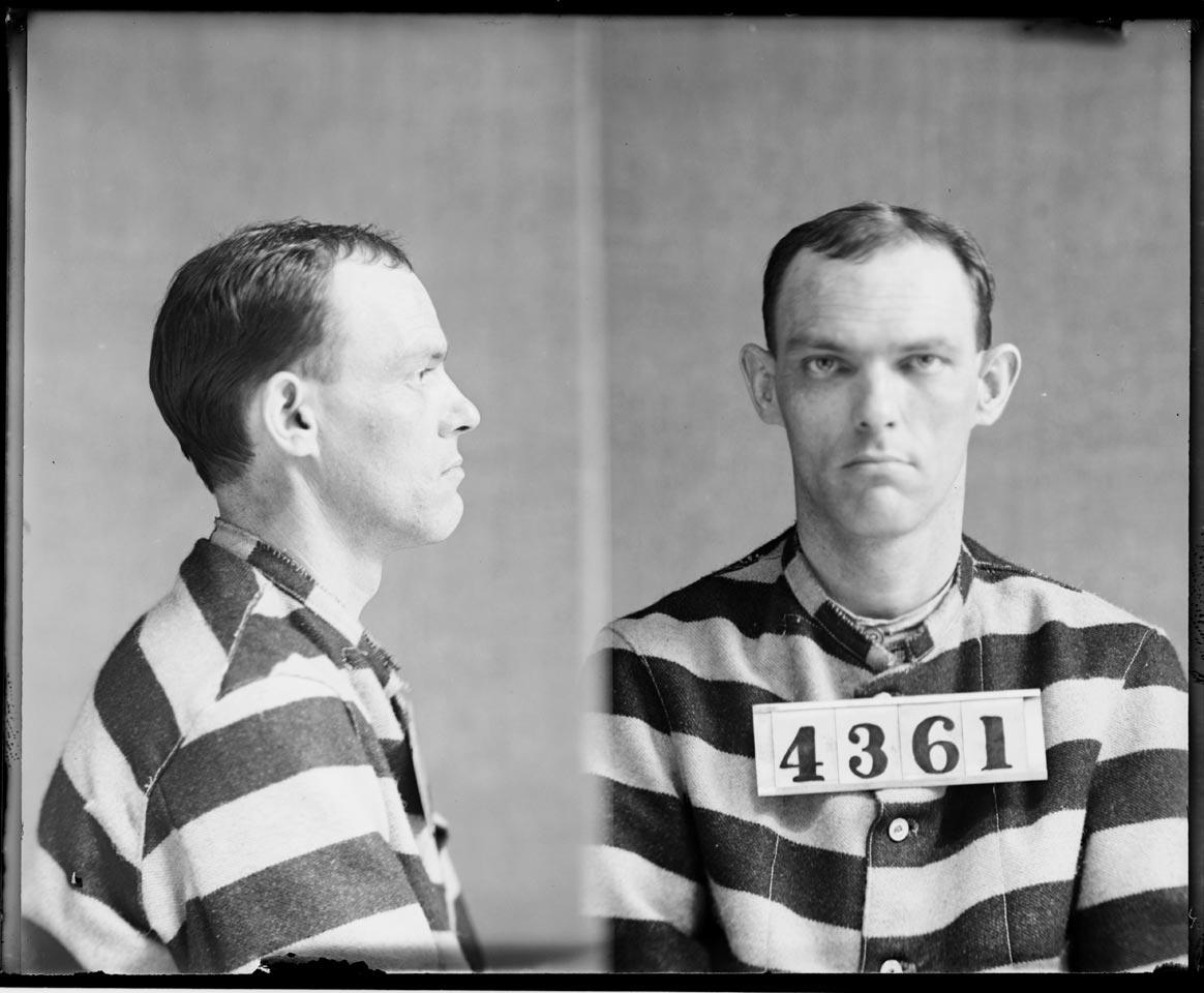 Mug Shot Monday:  Walter Turpin, No. 3159 and No. 4361