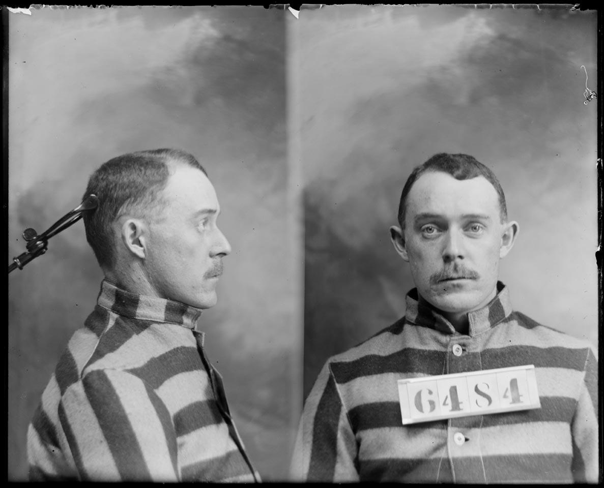 Mug Shot Monday:  Will Liddle, No. 6484 and No. 7341
