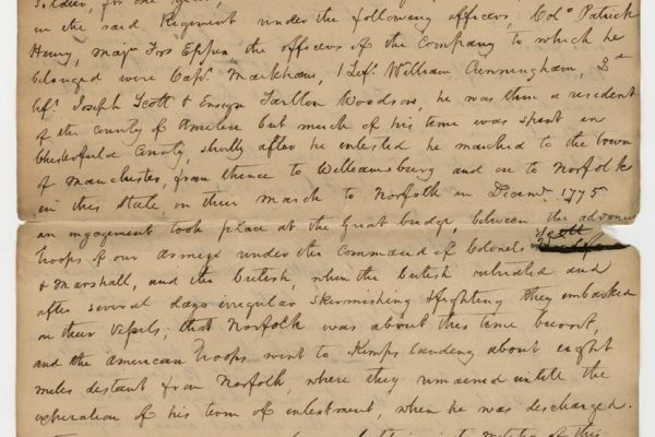 Petition of Worsham pg. 1