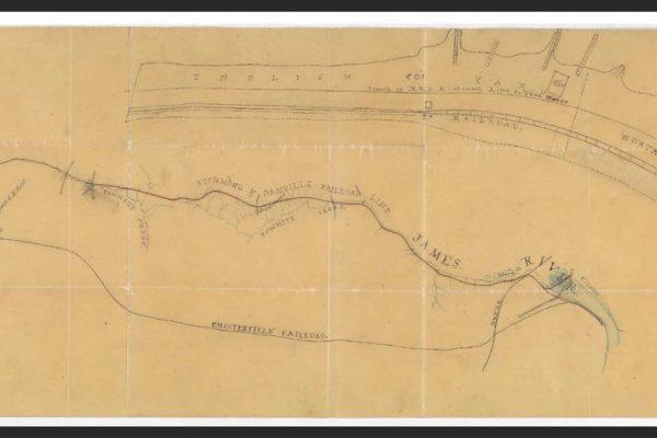 Plat showing rail lines