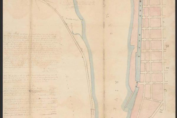 Map of Chesterfield Railroad