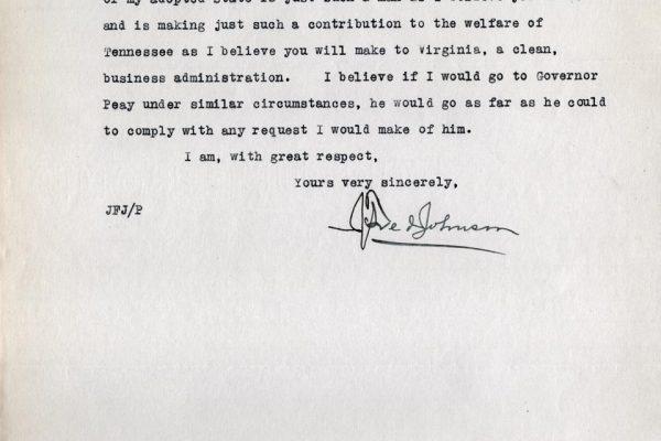 Letter from Johnson pg. 3