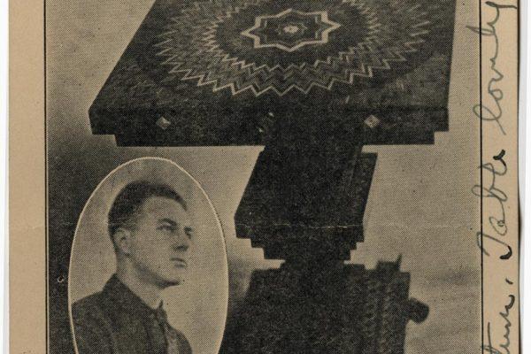 Card of Wesley Edwards (front)