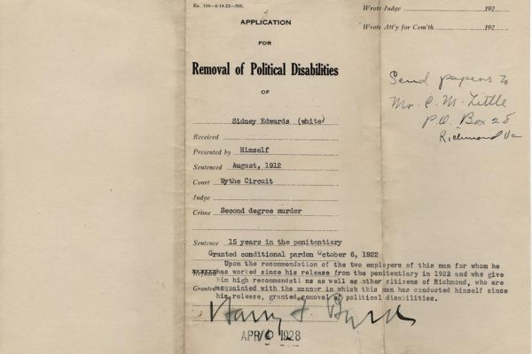 Jacket of Application for Removal