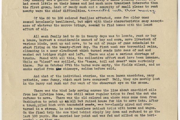 Story of Stafford Evacuation pg. 2