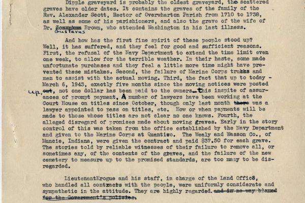 Story of Stafford Evacuation pg. 3