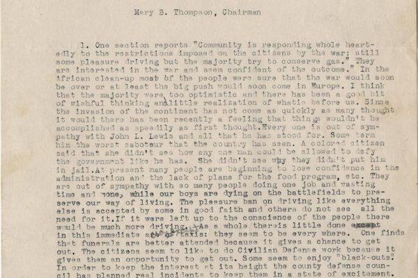 Stafford War History pg. 1