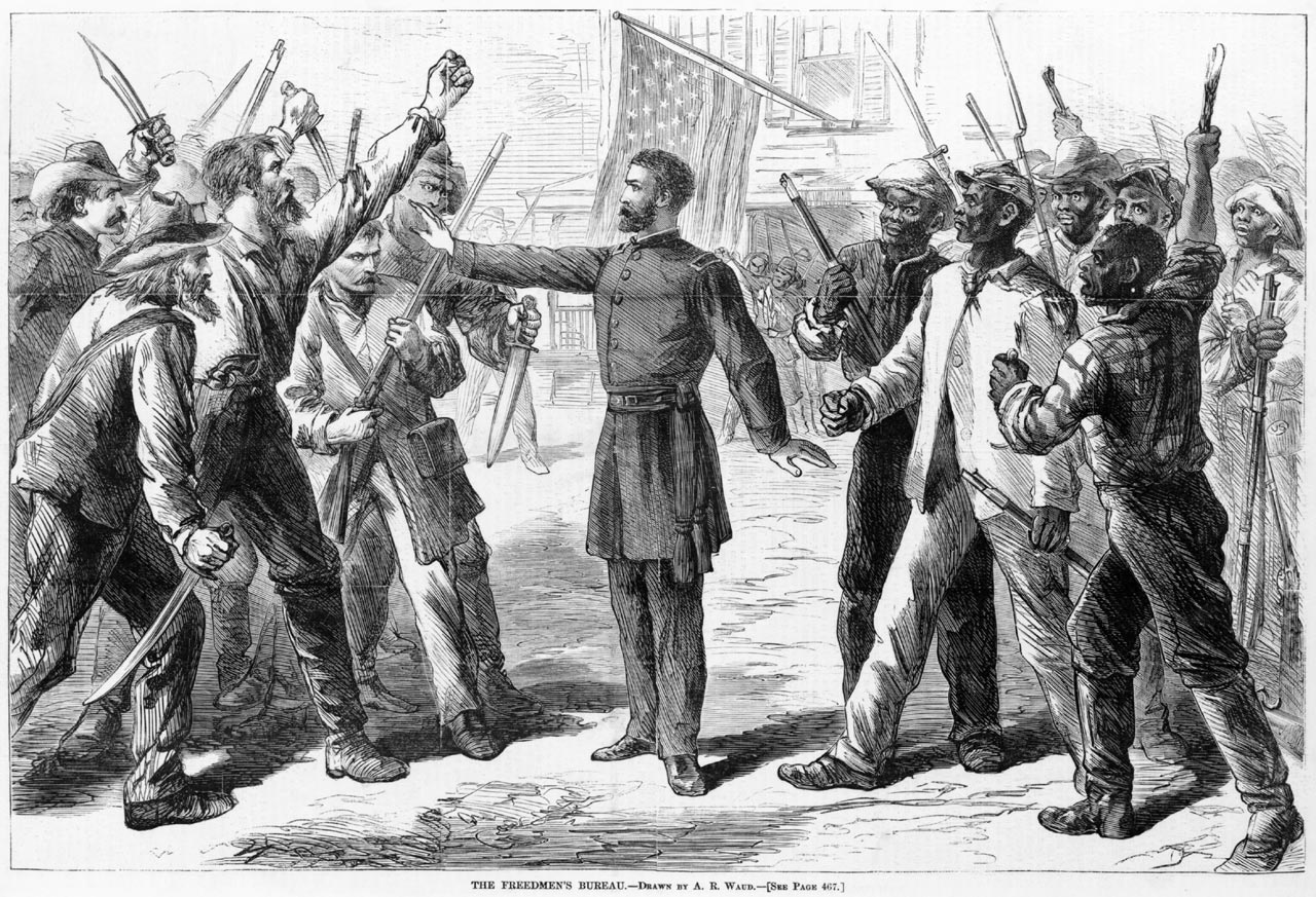 Freedmen's Bureau in the Local Courts