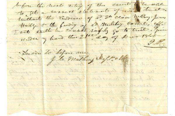 Affidavit of McCray pg. 2