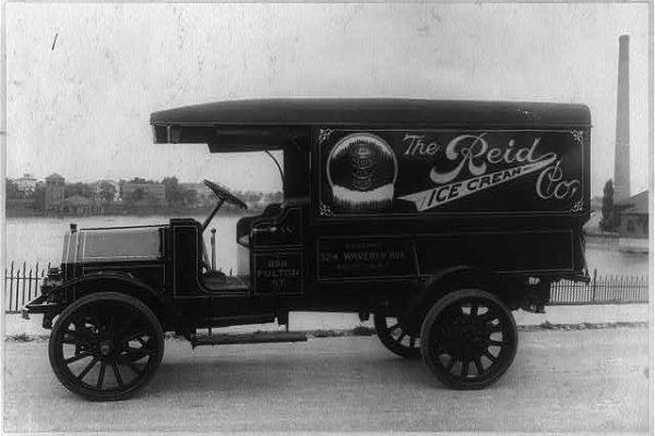 Reid Ice Cream Co. Truck