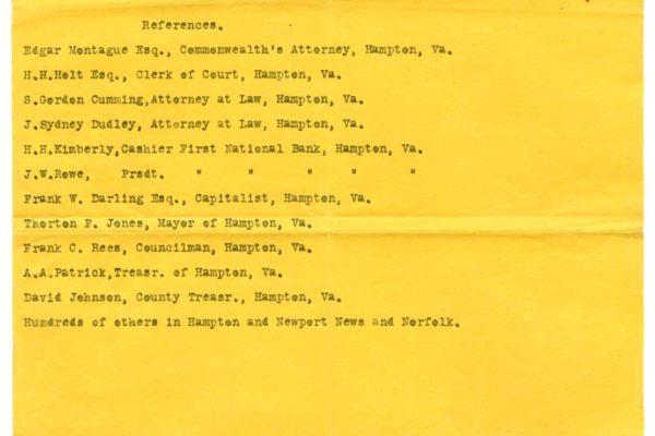 Letter from Lewter Hobbs pg. 2