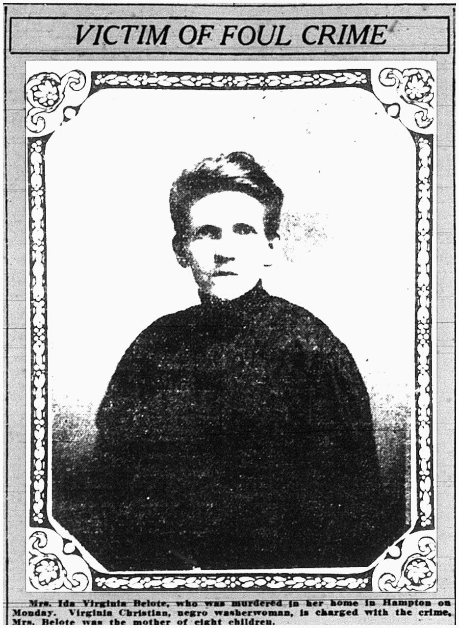 Souls of the Departed:  Ida V. Belote