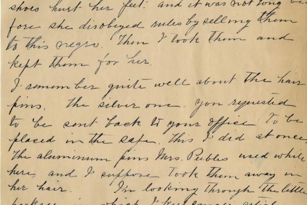 Letter from Ellen Bradley pg. 2