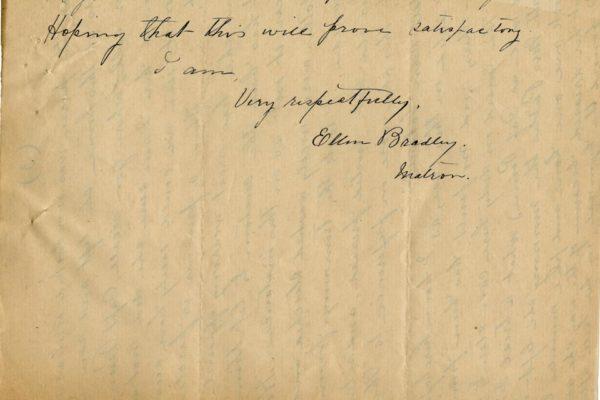 Letter from Ellen Bradley pg. 4