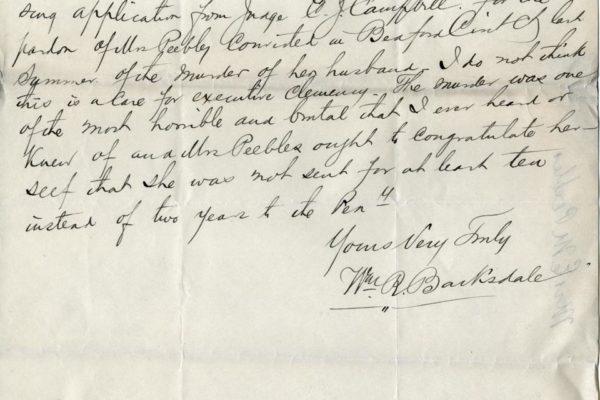 Letter from Judge Barksdale