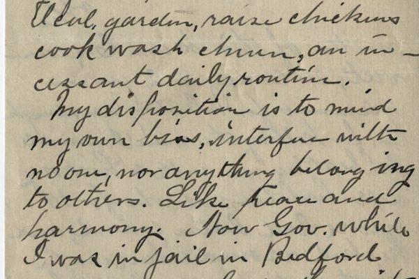 Letter from E.M. Peebles pg. 2