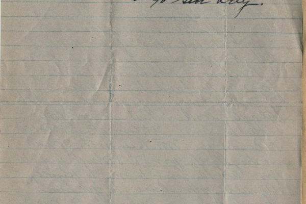 Letter from Mrs. W.H. Reynolds pg. 2